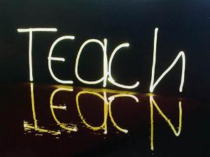 Teach-Learn Postcard, 500 px
